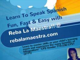 Reba La Maestra~~Reba The Teacher